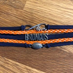 Denver Broncos Layered Bracelet